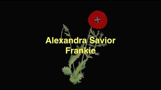 Watch Alexandra Savior Frankie video