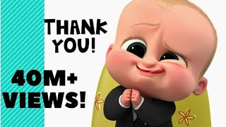 Boss Baby - Despacito \u0026 shape of you (mix) song video