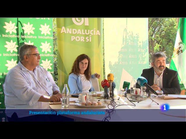 Presentación Plataforma Electoral. TVE