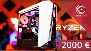 Der ULTIMATIVE Ryzen 5 3600 RGB GAMING PC!- 2000 Euro Budget und viel RGB
