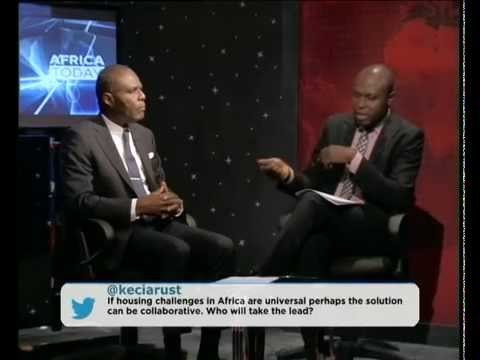 Africa Today on the housing deficit in Africa with Dr Sheriff Alabi and Alex Osunde