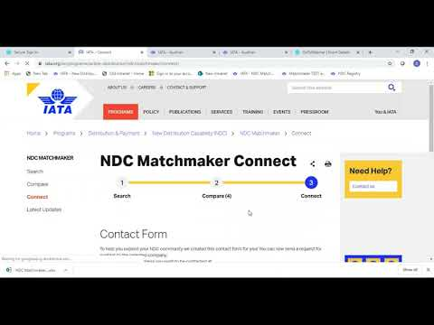 How to Use the NDC Matchmaker