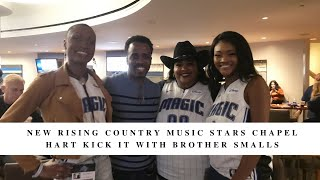 New Rising Country Music Stars Chapel Hart Kick it with Brother Smalls