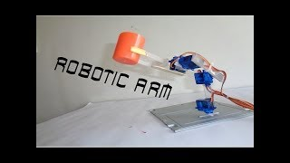 Download How To Make Micro Servo Robotic Arm Arduino Based