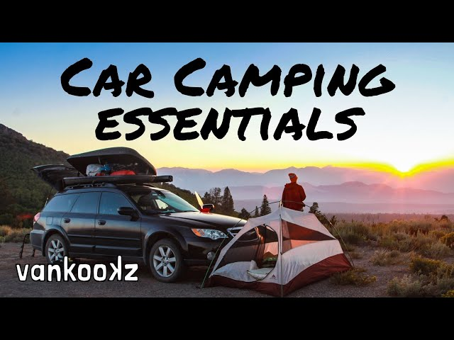 How to Camp in Your Vehicle | Everything You Need to Know Before You Hit the Road