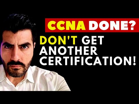 After CCNA DO NOT take any other Certification 🤔 OPTION 2  🗣 HERE IS WHY.