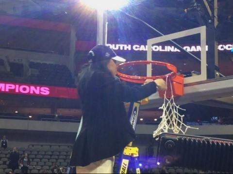 Raw: South Carolina Celebrates NCAA Championship