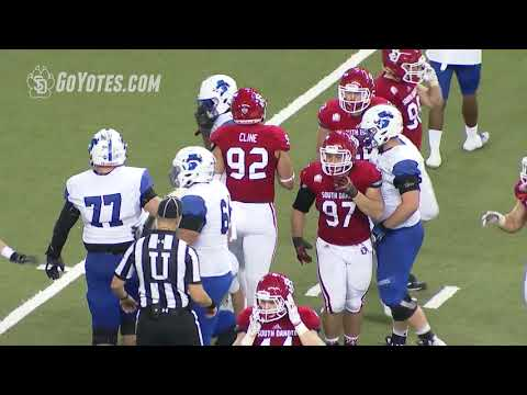 Football Highlights: South Dakota 56, Indiana State 6