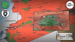 1 марта 2018. Военная обстановка в Сирии. Продвижение сирийской армии в регионе Восточная Гута.