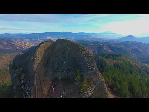 Drone Tour - Pilot Rock, Oregon