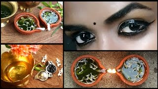 DIY (கண்மை) Kajal at Home | 100%natural | Improve Eye Sight | Protect Your Eyes from Infections