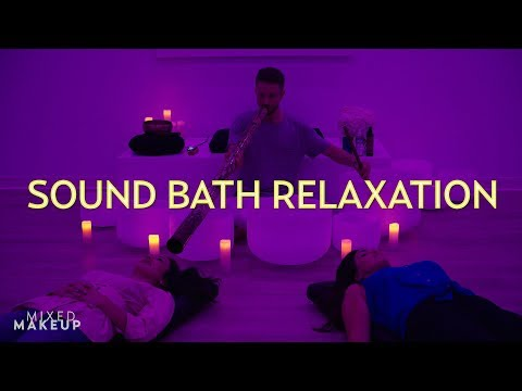 Experience a Sound Bath Meditation: Crystal Bowls, Chimes, & More!   The SASS with Susan and Sharzad