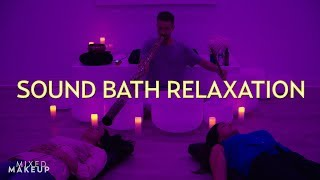 Experience a Sound Bath Meditation: Crystal Bowls, Chimes, & More! | The SASS with Susan and Sharzad thumbnail