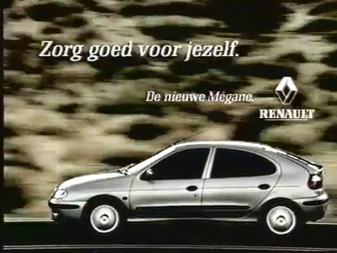 renault megane ad 1999 youtube. Black Bedroom Furniture Sets. Home Design Ideas