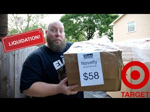 I Bought another $58 Customer Returns & Overstock TARGET Novelty Mixed Liquidation Mystery Box