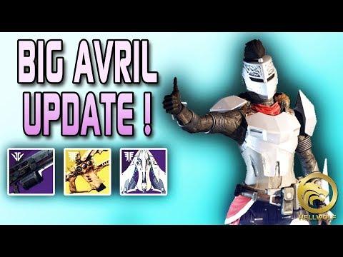 Destiny 2 - BIG AVRIL UPDATE & RNG CHANGE! Mille Voix, Arme de Forge & Bans thumbnail