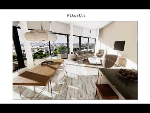 Realtime Architecture Visualisation of a London penthouse using unreal engine