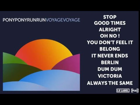 Pony Pony Run Run - Stop (Official Audio)