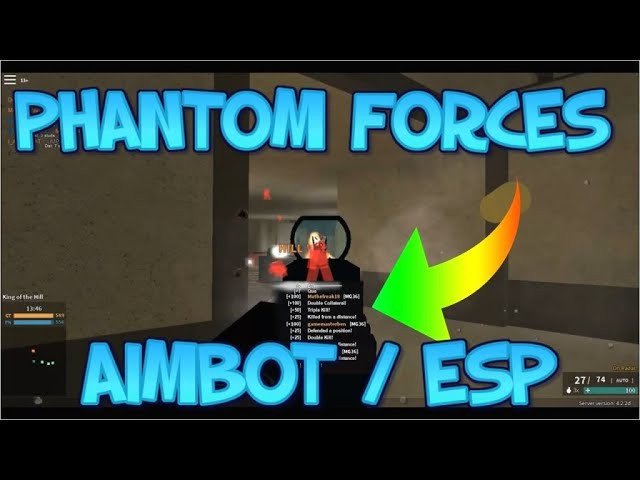 Roblox Phantom Forces Aimbot Esp Script Undetected Working
