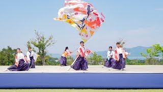 2019年5月12日(日) 第13回 みやこ姫よさこい祭り 御坊総合運動公園 ステージ演舞.