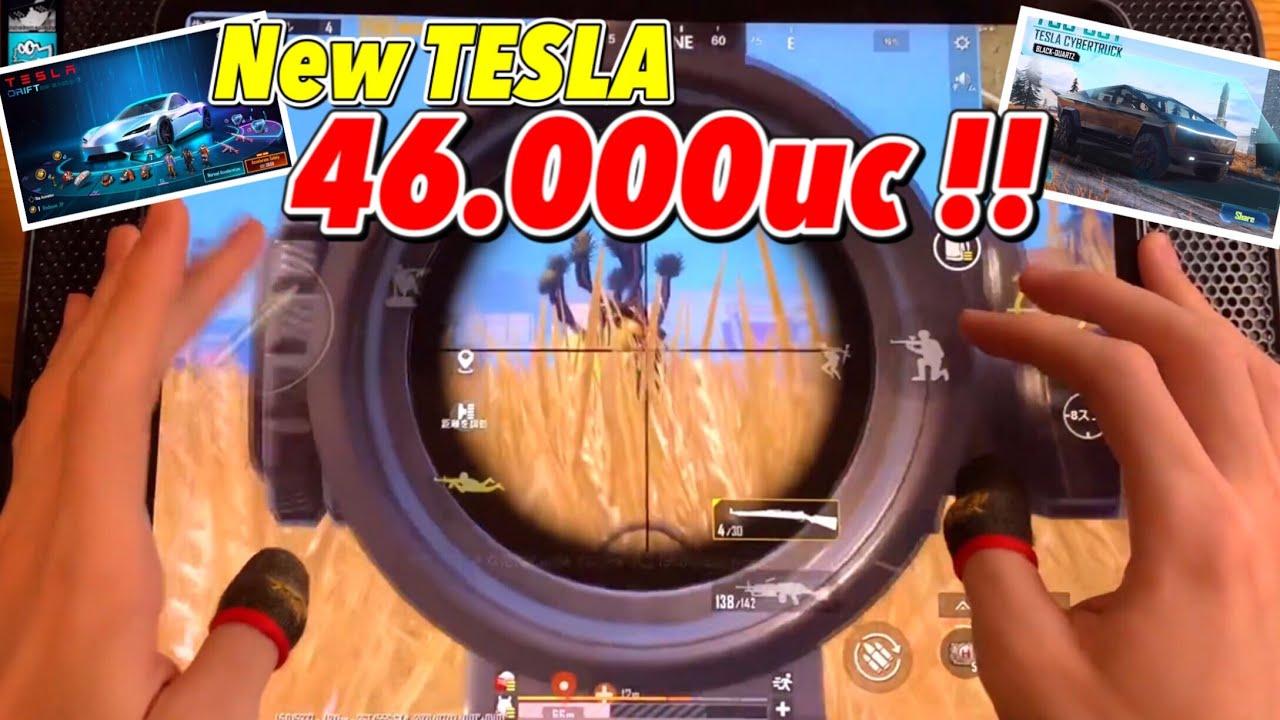 6Fingers  Hand Cam 【pubg mobile】God Is sniper!! NEW TESLA !!
