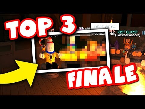 THE WINNER IS ANNOUNCED (Roblox YouTuber Survivor)