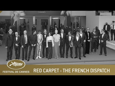 THE FRENCH DISPATCH - RED CARPET - CANNES 2021- EV