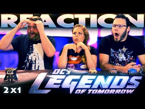 "Legends of Tomorrow 2x1 PREMIERE REACTION!! ""Out of Time"""