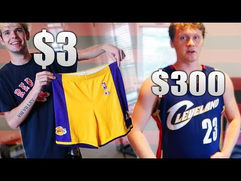 $3 NBA Jersey Vs $300 NBA Jersey! Worth It