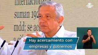 El Presidente dijo que México tiene participación en todas las investigaciones sobre la vacuna de Covid-19