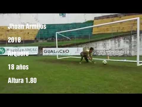 Jhoan Armijos Gualaceo Sc  entrenamientos en el primer plantel 2018