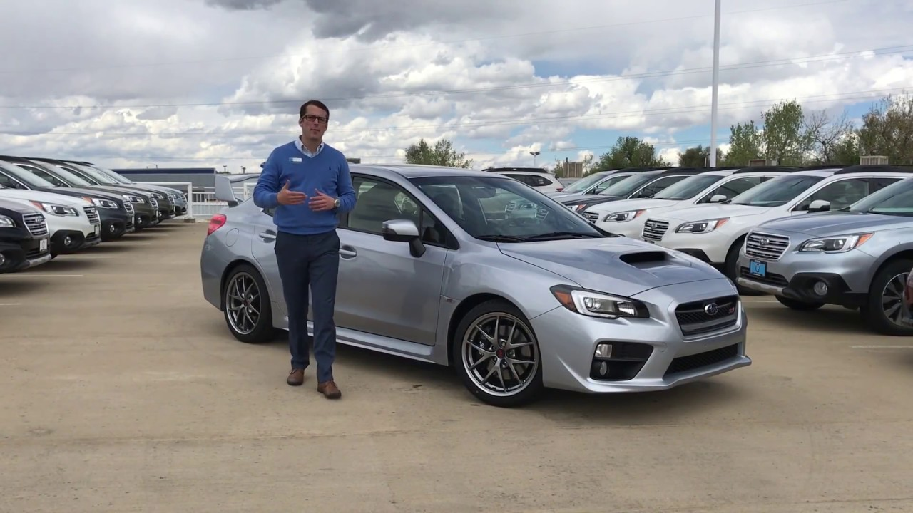 Disable and Enable Incline Hill Assist 2017 Subaru WRX STI