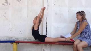 Экзамен в младшую группу 2016 художественная гимнастика