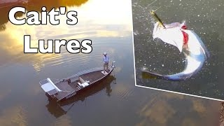 Barramundi fishing with Cait's Lures Aerial Footage Andy's Fish Video EP.338(I head out for an afternoon lure fishing flick with some lures from my Youtube fan Cait who lives in South Australia. I take my drone to see what I can capture, this ..., 2016-08-09T07:00:01.000Z)