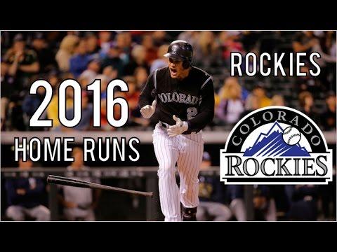 Colorado Rockies | 2016 Home Runs (204)