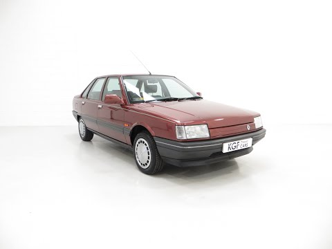 An Ex-Renault UK Press Department Renault 21 GTS Symphony With 16,027 Miles. £3,995