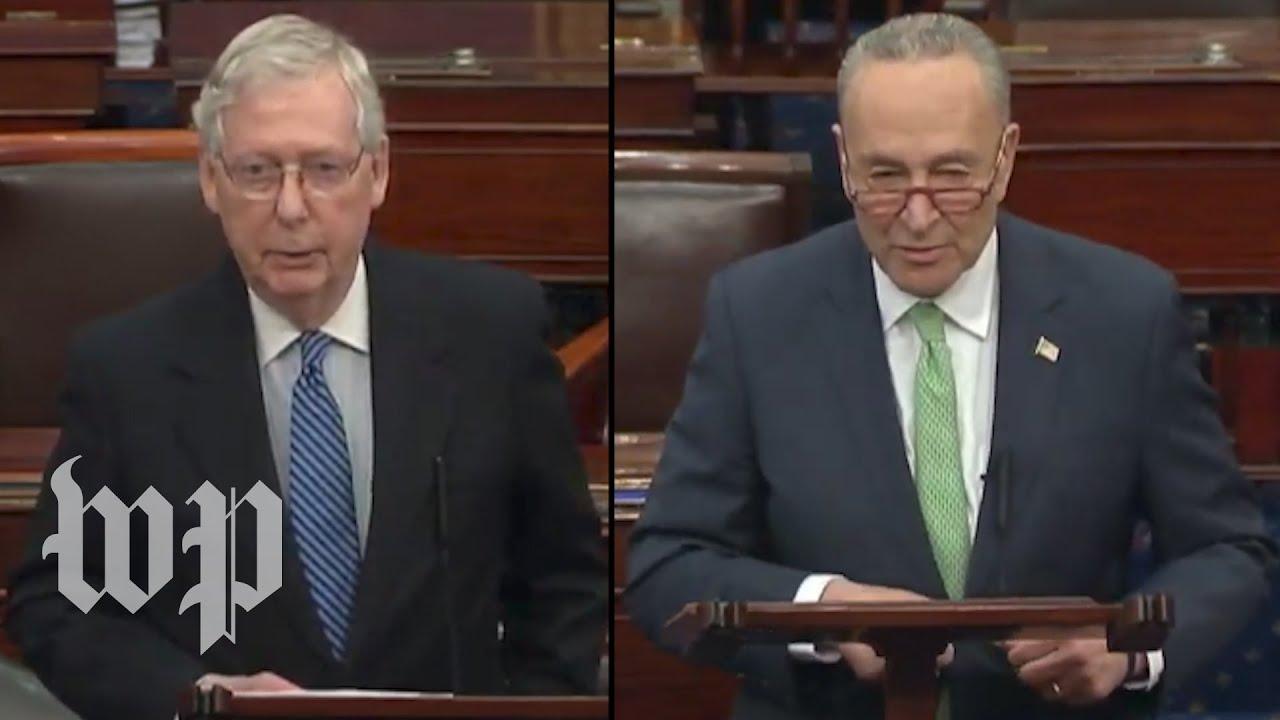 Senate to vote Wednesday on $2 trillion coronavirus bill after ...