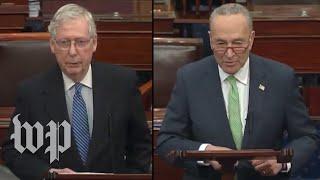 WATCH LIVE: Senators cląsh as Congress remains deadlocked over coronavirus economic stimulus bill