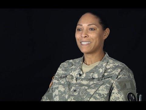 Brig. Gen. Linda Singh recounts her experiences as a Soldier