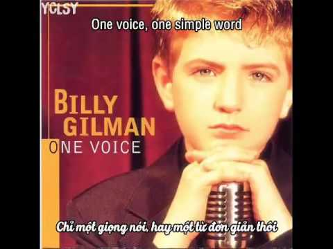 [VIETSUB] Billy Gilman - One Voice