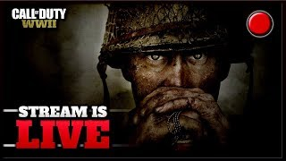 GAMEPLAY COD WW2 live stream!! (call of duty world war 2)