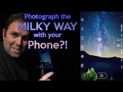 Photograph the Milky Way with a Smartphone...