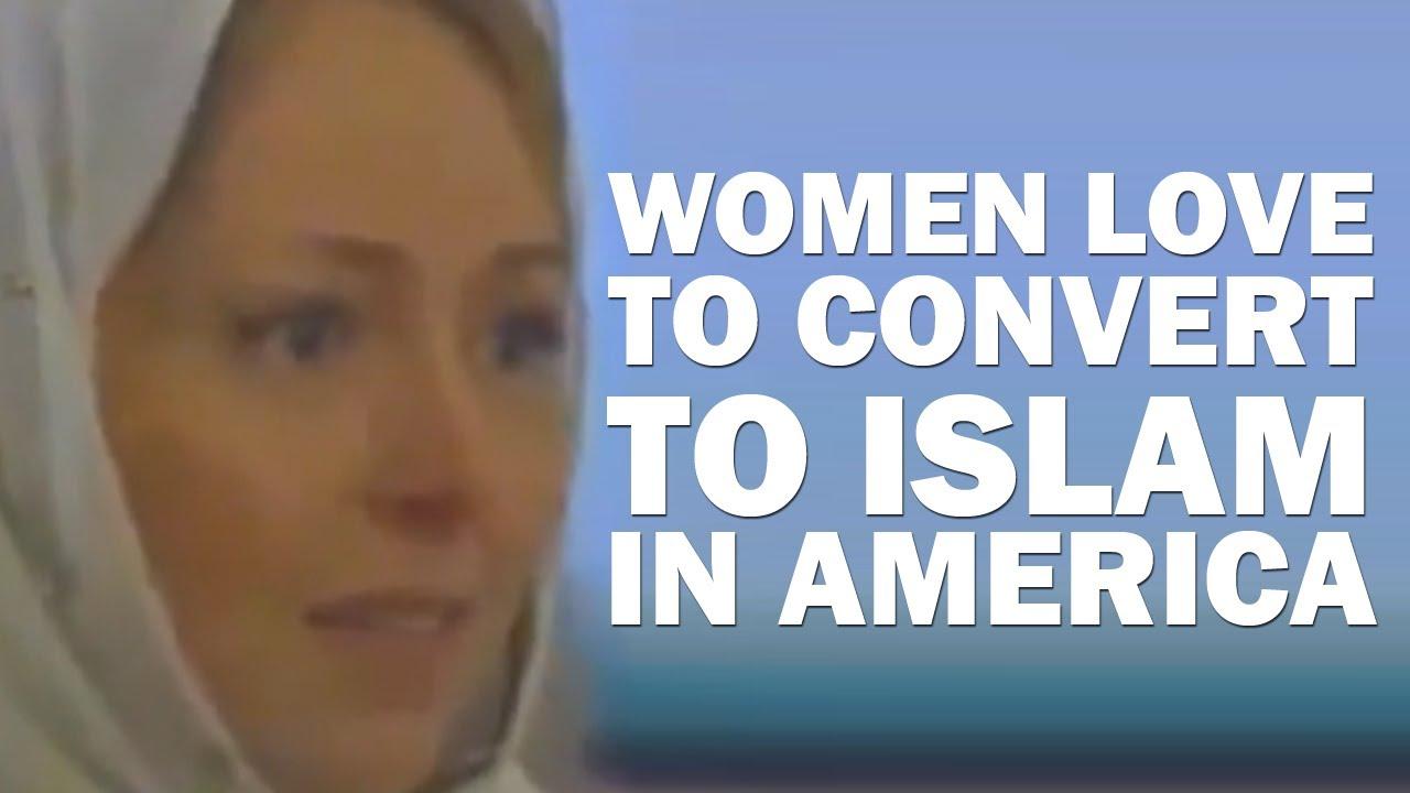 CNN Reports Women Converting to Islam in America - YouTube