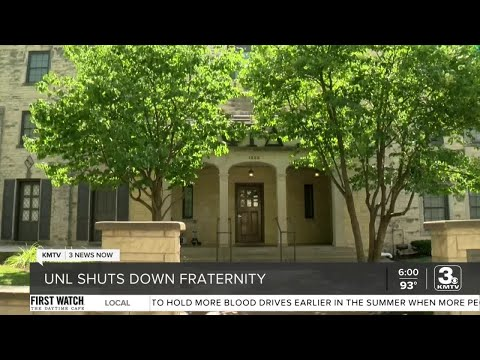 UNL fraternity closed following allegation of sexual assault