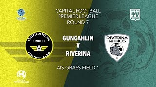 2019 Capital Football Premier League - 1st Grade Round 7 - Gungahlin United FC v Riverina FC