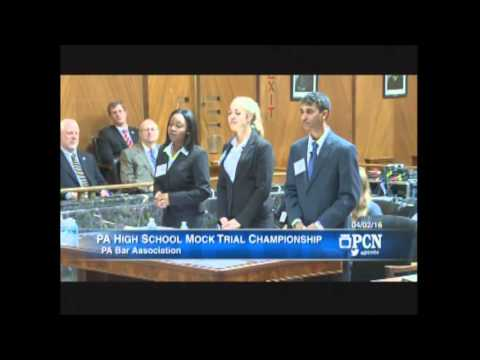 2016 PBA YLD Statewide High School Mock Trial Championship