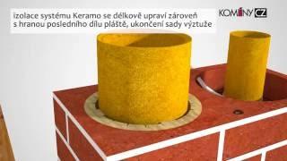 Komín pro bytové domy kondenzační spotřebiče Komíny CZ