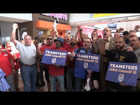 Teamsters & Union Workers Across North America Flew United To Puerto Rico Relief 10/4/17