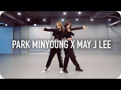 [박민영] 팬미팅 안무 연습 영상 God Is A Woman + Touch (Park Minyoung X May J Lee)