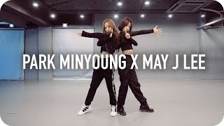 [박민영] 팬미팅 안무 연습 영상 God Is A Woman + Touch (Park Minyoung X May J Lee)